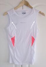 Ronhill Women's Aspiration Vest 02119 - 429 White / Fluo Pink Size 8