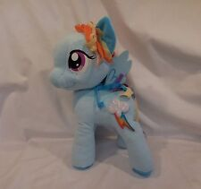 "My Little Pony Rainbow Dash Cutie light up talking PLUSH Hasbro 2013 11"" Works"