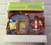 Nickelodeon Spongebob Squarepants Krusty Krab Ensemble Ornament Set Christmas