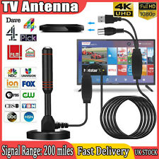 More details for dvb50 high gain freeview tv aerial-portable indoor/outdoor digital hd antenna