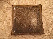 Ceramic Square Plate by Country Originals - Brown Medium