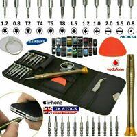 16 in 1 Mobile Phone Repair Tool Kit Screwdriver Set Samsung iPhone iPod iPad UK