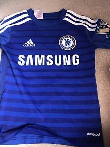 Boys Chelsea Football Club Shirt Age 7-8. Barclays Premier League. 14/15.