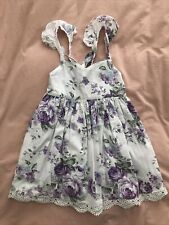 Girls size 5 La Sienna Couture Dress EUC
