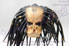 1:6 scale HOT TOYS MMS09 Alien vs Predator AVP Scar Predator HEAD SCULPT