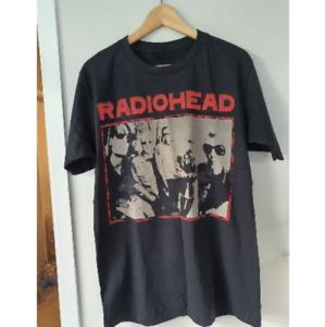 RADIOHEAD Vintage T shirt Unisex Retro concert  Rare