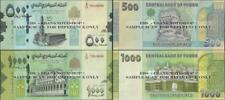 Yemen Arab Republic,2 NOTE SET , 500/1000 Rials,2017,UNC,P New @Ebanknoteshop
