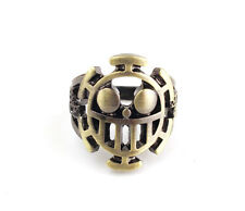 ONE PIECE Trafalgar Law Skull Metal Cosplay ring Pendant Hot
