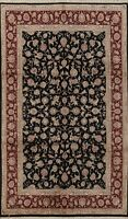 6x10 Floral Traditional Chinese Area Rug Hand-knotted Wool/ Silk Classic Carpet