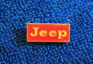 Jeep Hat Lapel Pin Accessory May Fit Wrangler Cherokee Wagoneer CJ