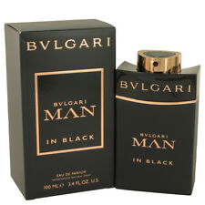 BVLGARI MAN IN BLACK 100ML EDP PARFUM SPRAY BY BVLGARI FOR MEN'S PERFUME NEW B