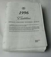 1996 CADILLAC DEVILLE ELDORADO SEVILLE DEALER NEW PRODUCT SERVICE REPAIR MANUAL