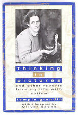 Thinking in Pictures Temple Grandin Stated 1st ed. Signed HC DJ