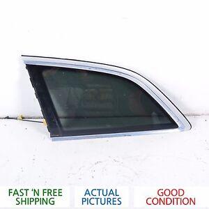 2007 - 2009 AUDI Q7 LEFT DRIVER SIDE REAR QUATER GLASS - OEM