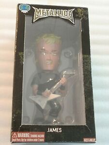 Metallica Bobblehead SEG 2003 MIB James Hetfield!