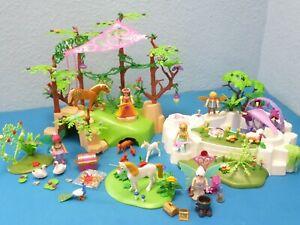 9132 Magischer Feenwald 5475 Kristallsee Princess fairies Figuren Playmobil 1568