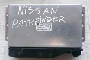 Nissan Pathfinder (R50) 3.3 V6 Steuergerät 47850 1W404 control unit
