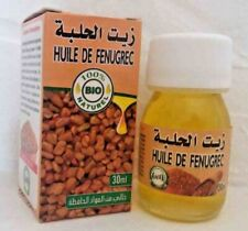 Huile de Fenugrec BIO 100% Pure 30ml Fenugreek Oil, Aceite de Fenogreco