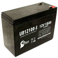 Schwinn s500 s350 Battery UB12100-S 12V 10Ah Sealed Lead Acid SLA AGM