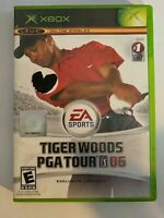 TIGER WOODS PGA TOUR 06 - XBOX - COMPLETE WITH MANUAL - FREE S/H - (T9)