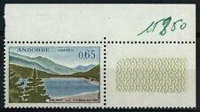 Andorra 1961-82 SG#F178, 65c Engolasters Lake MNH Cat £44 #E91159