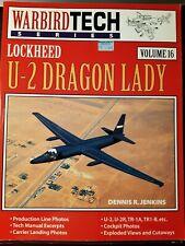 Lockheed U62 Dragon Lady- warbird tech series volume 16. Très bon état