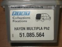 KIT FIXATION HAYON ARRIERE FIAT MULTIPLA phase 2 - 51085564