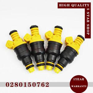 4pcs 0280150762 Fuel Injector for Volvo 240 740 940 960 940 Peugeot 205 Citroen