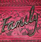 Vintage Rustic Cast Iron Word Sign FAMILY Wall Art Sculpture Gift