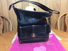 Coach Legacy Haircalf Pocket Large Duffle Shoulder Bag Limited Edition 21158