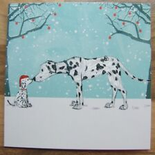 Dalmatian Eskimo Kiss Quality Christmas Cards Pack of 10  ~100% for Charity~