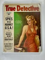TRUE DETECTIVE VOL 36 # 6 - Pulp Crime - Sept 1941 - VG / Shrink Wrapped