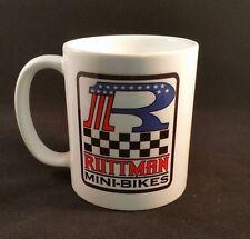 RUTTMAN MINI BIKE 110Z COFFEE MUG - MINIBIKE MOTORCYCLE