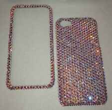 CRYSTAL RARE 100% AB CASE COVER  FOR  IPHONE 8s 8 PLUS Made W SWAROVSKI ELEMENTS