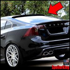 (284R) Rear Roof Spoiler Window Wing (Fits: Volvo S60 2010-on 4dr) SpoilerKing