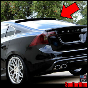 (284R) Rear Roof Spoiler Window Wing (Fits: Volvo S60 2010-2018 4dr) SpoilerKing