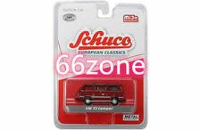SCHUCO 1/64 EUROPEAN CLASSICS VW VOLKSWAGEN T3 CAMPER VAN RED 9200