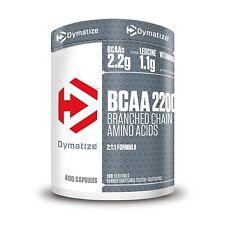 Dymatize BCAA Complex 2200, 400 Tabletten, Muskelaufbau, Aminosäuren, BCAA´s