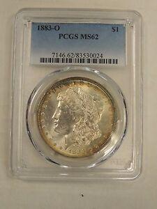 1883-O Morgan Dollar MS-62 PCGS # 0024
