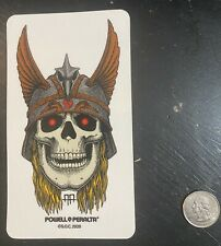 New listing Powell Peralta Andy Anderson Skateboarding Sticker! Rare!