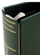 Scott Small Green National / Specialty Stamp Binder 3 Ring Album w/ Metal Hinges