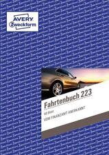 Avery Zweckform 223 Fahrtenbuch v. Finanzamt anerkannt neu für Firmenwagen DINA5