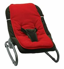 Red Easy Baby Rocker Bouncer Reducer, Insert Cushion for Baby Rockers/Bouncers