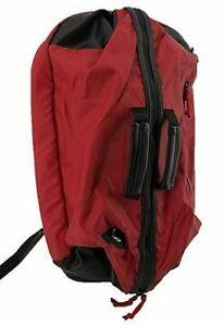 Nike Jordan Duffel Pack Bag Backpack Back Pack Red Laptop Storage 9A1793