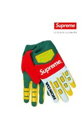 Supreme Honda Fox Racing Gloves Moss Green - Confirmed Order Size Small NEW bogo