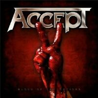 """ACCEPT """"BLOOD OF THE NATIONS"""" CD NEU"""