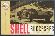 SHELL MOTOR RACING Successes Achievements Booklet 1959 MILLE MIGLIA Le Mans F1