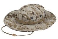 Desert Digital Camo Boonie Hat Wide Brim by TRU-SPEC 3230 - Poly Cotton Twill
