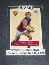 2009 SCANLENS CARD DANIEL RICH NO.016 OF 400