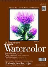 "Strathmore Watercolor Paper Pad Series 400 Cold Press 9"" x 12"" 140 lb 12 Shts"